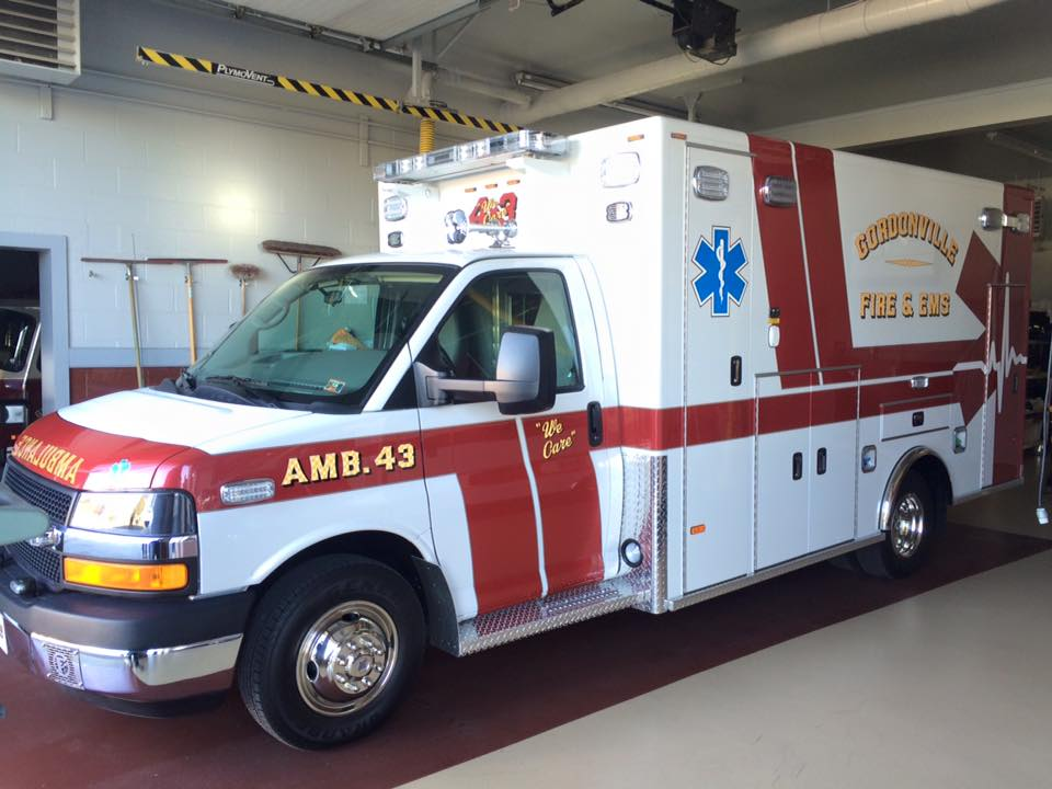 The NEW Ambulance 43 is in service!