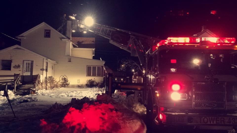 A snowy and busy January for Station 43