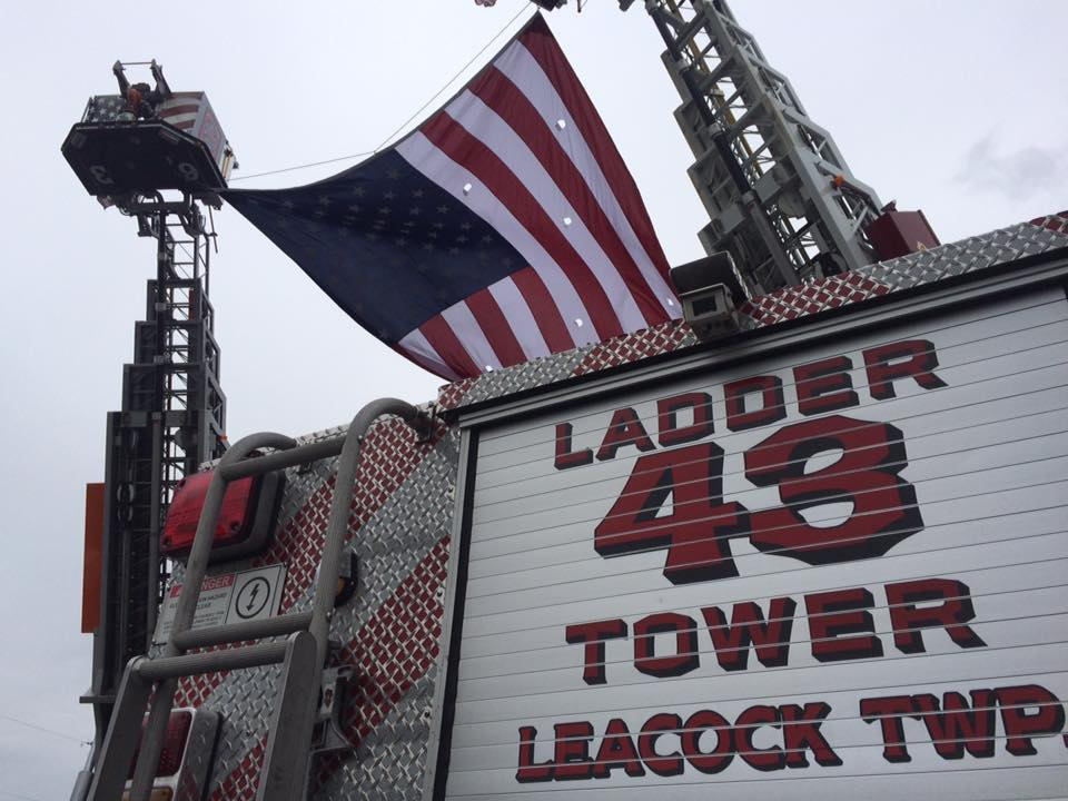 Tower 43 at the Funeral of Bud Shirk